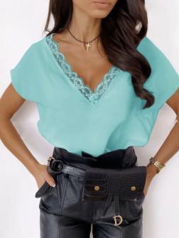 Γυναικεία μπλούζα 3381 μέντα