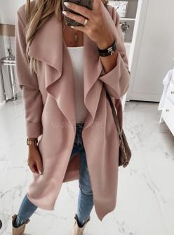 Γυναικείο παλτό 1220 ροζ