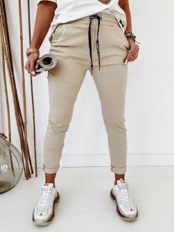 Γυναικείο αθλητικό παντελόνι 2389 μπεζ