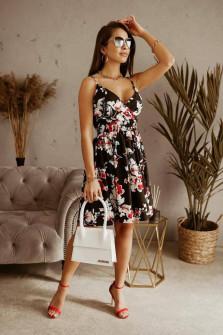 Γυναικείο φόρεμα φλοράλ 556802