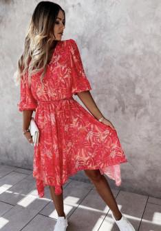 Γυναικείο ασύμμετρο φόρεμα 2129503