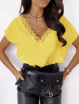 Γυναικεία μπλούζα 3381 κίτρινο