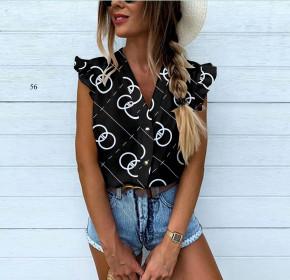 Γυναικεία αμάνικη μπλούζα 505902 μαύρη