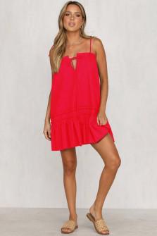 Γυναικείο φόρεμα 3659 κόκκινο