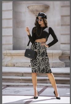 Γυναικεία φούστα με print 329301