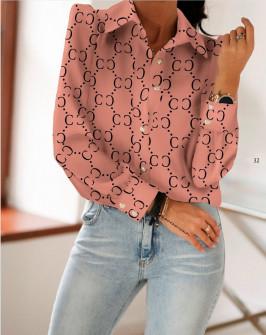 Γυναικείο πουκάμισο 398402 κοραλί