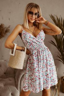 Γυναικείο φόρεμα φλοράλ 556804