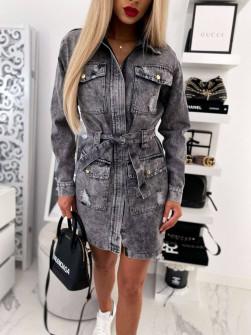 Γυναικείο τζιν φόρεμα 4791