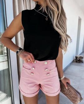 Γυναικείο σορτσάκι 5671 ροζ