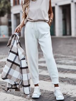 Γυναικείο παντελόνι 4142 άσπρο