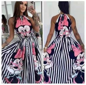 Γυναικείο φόρεμα με print 572601