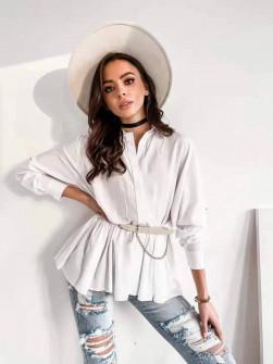 Γυναικείο πουκάμισο 21051 άσπρο
