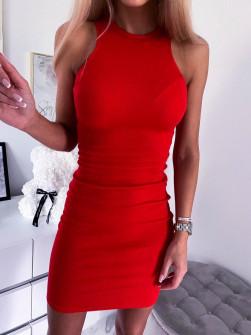 Γυναικείο φόρεμα 2623 κόκκινο