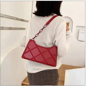 Γυναικεία τσάντα B286 μπορντό