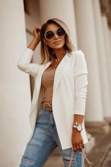 Γυναικείο σακάκι 5018 άσπρο
