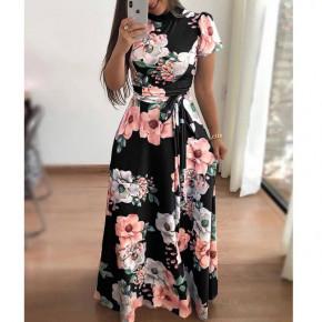 Γυναικείο plus size φόρεμα 21478 μαύρο