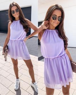 Γυναικείο φόρεμα 5125 λιλά