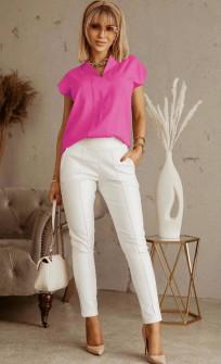 Γυναικεία στιλάτη μπλούζα 5611 φούξια