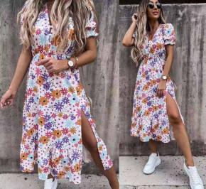 Γυναικείο φόρεμα φλοράλ 2127403