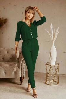 Σετ σετ πουκάμισο και παντελόνι 21244 πράσινο