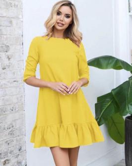 Γυναικείο φόρεμα 3997 κίτρινο