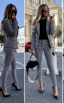 Γυναικείο σετ - σακάκι και παντελόνι 3366