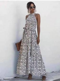 Γυναικείο μακρύ φόρεμα 625706