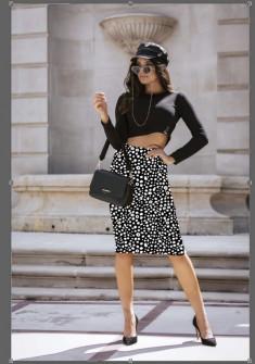 Γυναικεία φούστα με print 329302