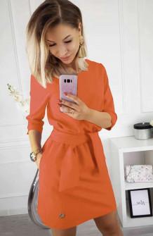 Γυναικείο φόρεμα 3327 πορτοκαλί