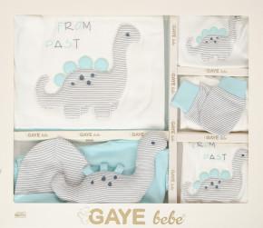 Βρεφικό σετ νεογέννητου 10τμχ. 505680 γαλάζιο
