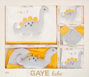 Βρεφικό σετ νεογέννητου 10τμχ.505680 κίτρινο