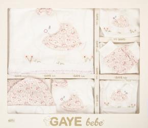 Βρεφικό σετ νεογέννητου 10τμχ. 505677 άσπρο