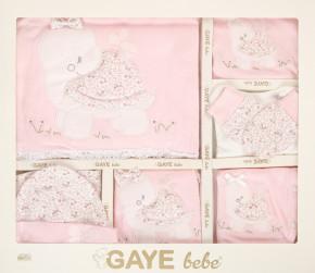 Βρεφικό σετ νεογέννητου από 10τμχ. 505677 ροζ