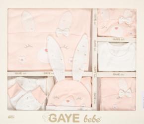 Βρεφικό σετ νεογέννητου από 10τμχ. 505678 ροζ ανοιχτό
