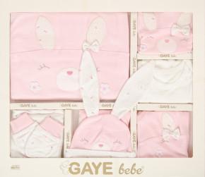 Βρεφικό σετ νεογέννητου 10τμχ.  505678 ροζ