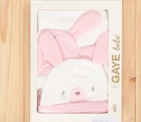 Βρεφικό σετ νεογέννητου 5τμχ. 505762 ροζ