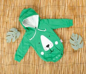 Βρεφικό κορμάκι αρκουδάκι 5055230 πράσινο