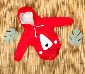 Βρεφικό κορμάκι αρκουδάκι 5055230 κόκκινο