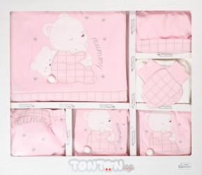Бебешки комплект за изписване 10 части 505137 розов