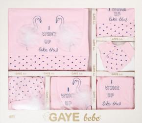 Бебешки комплект за изписване 10 части фламинго 505673 розов