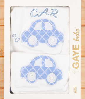 Бебешки комплект за изписване 5 части кола 50500767 син