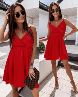 Γυναικείο φόρεμα 5122 κόκκινο