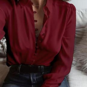 Γυναικείο πουκάμισο 3798 μπορντό