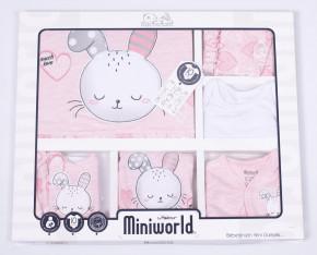Βρεφικό σετ για νεογέννητο 10 τμχ.  50515031 ροζ