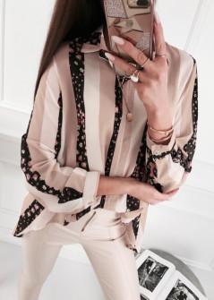 Γυναικείο πουκάμισο 5041 ροζ