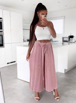 Γυναικείο παντελόνι σολέιγ 34456 ροζ