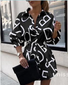 Γυναικεία πουκαμίσα 398302 μαύρη