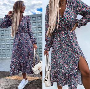Γυναικείο εντυπωσιακό φόρεμα 2246003