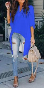 Γυναικείο μπλουζοφόρεμα 3561 μπλε