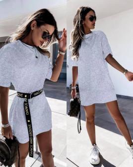 Γυναικείο μπλουζοφόρεμα 41545 γκρι